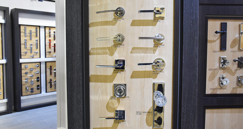 modern door knobs