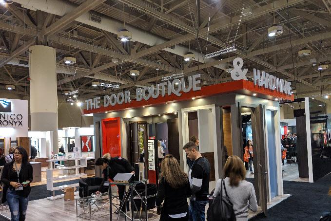 the door boutique showroom